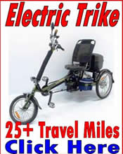 three 3 wheel electric trike adult transportation mobility