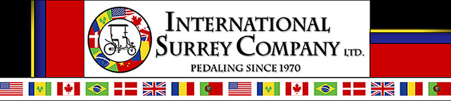 International Surrey Company Ltd.leading four 4 wheel bike bicycle two 2 person and four 4 person bikes